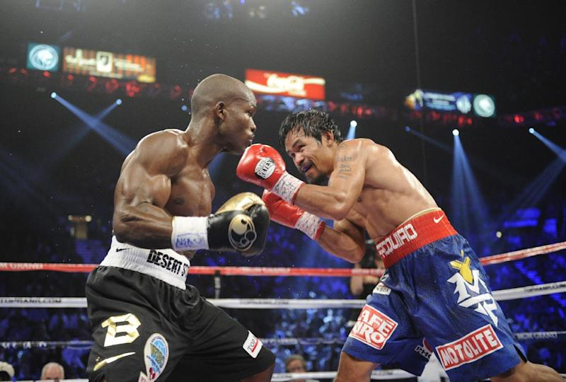 Pacquiao-Bradley rematch set for April 12