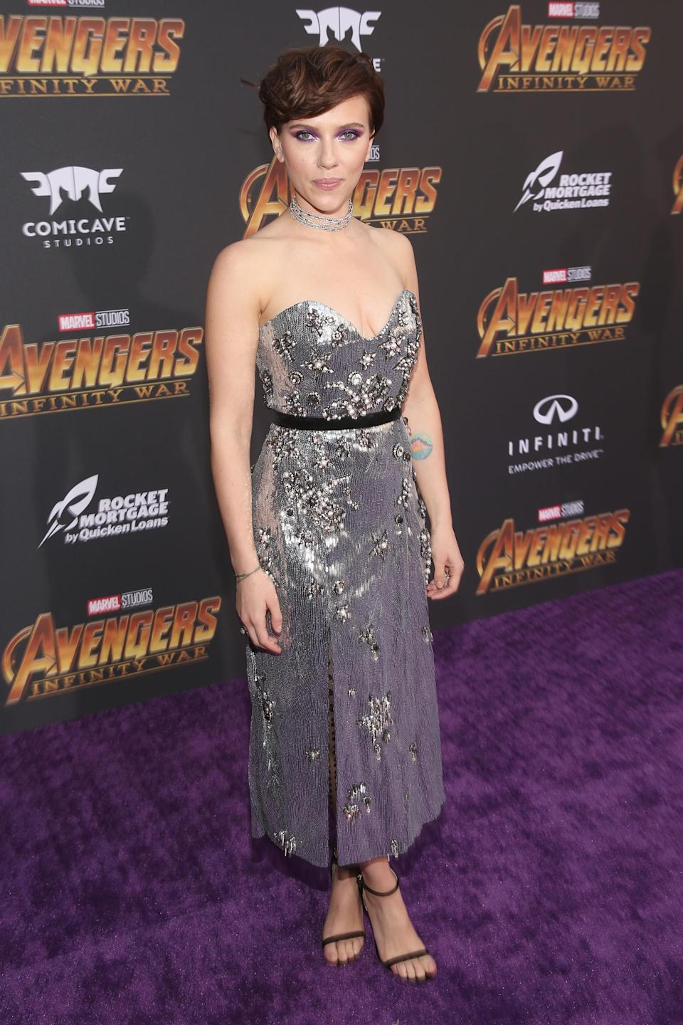 <p>Wearing Erdem. (Photo: Getty Images) </p>