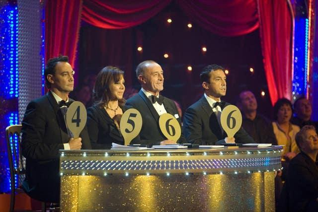 Strictly Come Dancing Handout Images