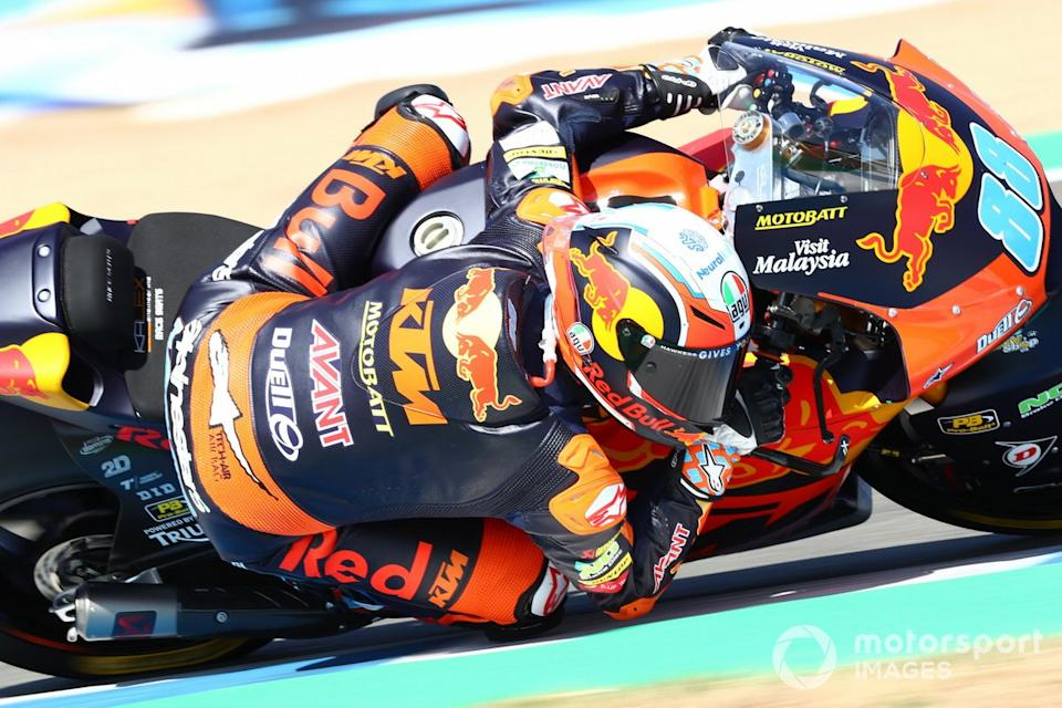 "Jorge Martin, Red Bull KTM Ajo, Red Bull KTM Ajo<span class=""copyright"">Gold and Goose / Motorsport Images</span>"