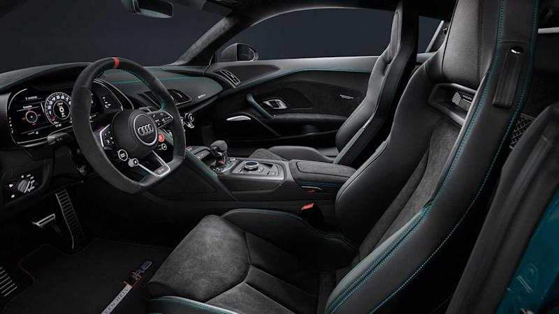 Audi R8 Green Hell Edition Interieur