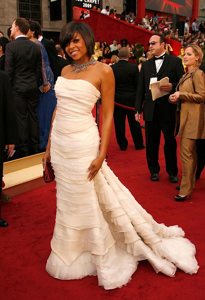 Taraji P. Henson at the 81st Annual Academy Awards - Feb. 22, 2009