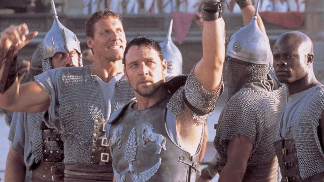 Russell Crowe in 'Gladiator'. (Credit: Universal)