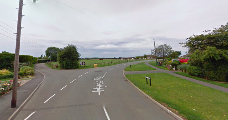 The incident took place between Hyde Road and Blisworth Road in the Roade area of Northampton. (Google)
