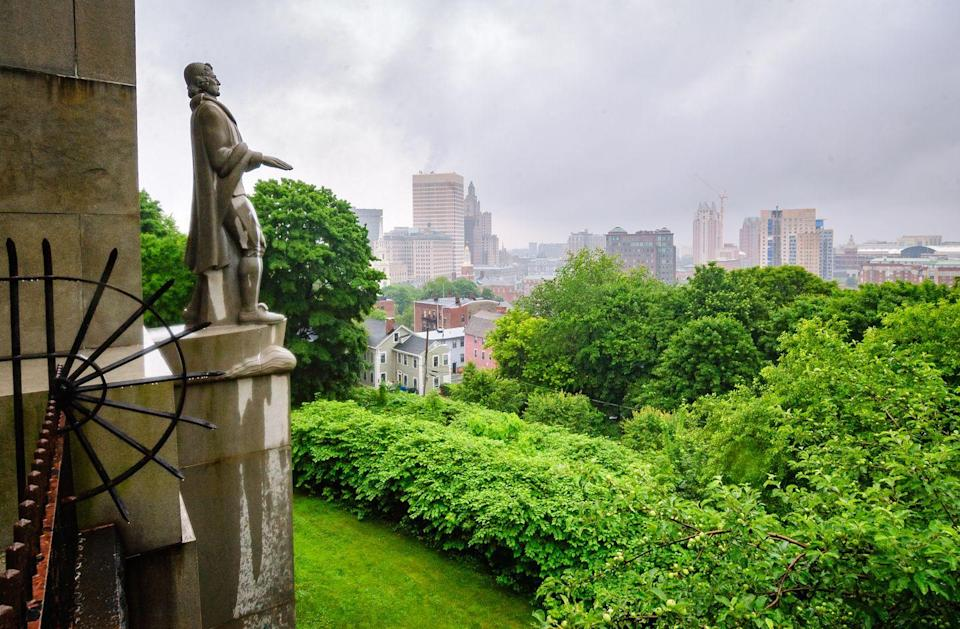 """<p><a href=""""https://www.nps.gov/rowi/index.htm"""" rel=""""nofollow noopener"""" target=""""_blank"""" data-ylk=""""slk:Roger Williams National Memorial"""" class=""""link rapid-noclick-resp""""><strong>Roger Williams National Memorial </strong></a></p><p>You'll learn something at almost every national park. Spend two minutes with a park ranger, and they'll give you some fascinating facts. Here, you might learn about someone you didn't study in history class, Roger Williams, the founder of Rhode Island. He was kicked out of Massachusetts because he wanted religious freedom for all. </p>"""