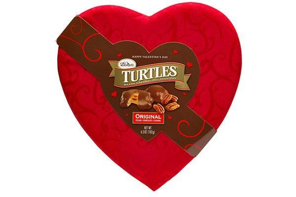 Valentines Candy Ranked Turtles Heart