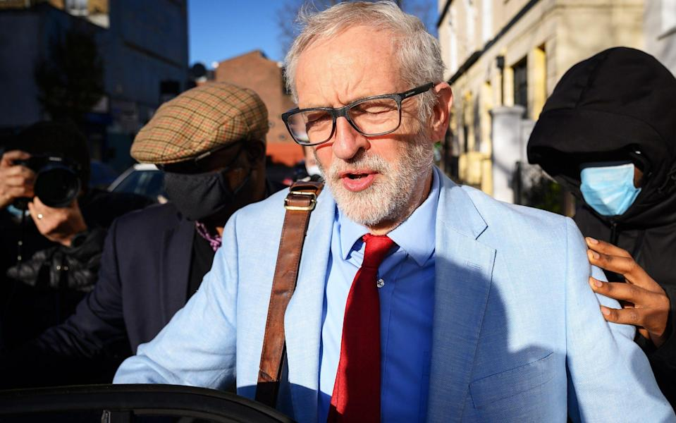 Jeremy Corbyn told a debate that Labour had given Luciana Berger 'all the support she needed and deserved' - Leon Neal/Getty Images Europe