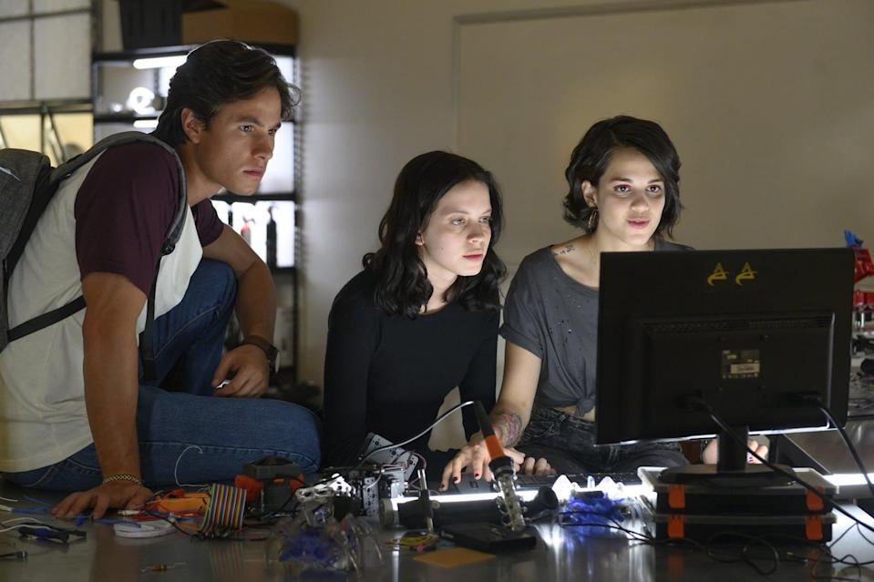 """<p>In this Mexican drama, a mystery hacker starts releasing confidential information about students from the same high school, and savvy social recluse Sofía decides to figure out the identity of the person responsible. </p> <p><a href=""""http://www.netflix.com/title/81021245"""" class=""""link rapid-noclick-resp"""" rel=""""nofollow noopener"""" target=""""_blank"""" data-ylk=""""slk:Watch Control Z on Netflix now."""">Watch <strong>Control Z </strong>on Netflix now.</a></p>"""