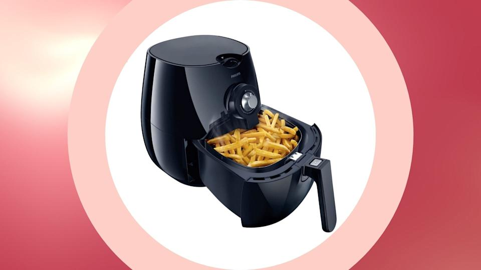 Philips Analog Viva Airfryer with Rapid Air technology and Recipe Book on sale for Cyber Monday, $150 (originally $230).