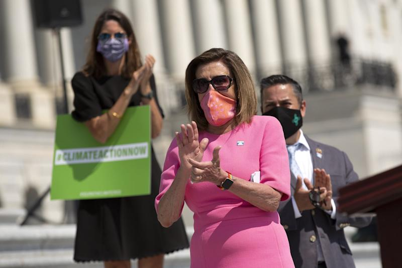 Speaker of the House Nancy Pelosi has been a vocal critic of China over Hong Kong: Getty Images