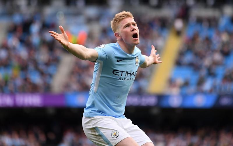 Kevin De Bruyne fired in a rocket to make it 3-0 - Getty Images Europe