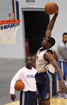 The Tulsa 66ers made Latavious Williams the 16th pick in the D-League draft because they were impressed with his athleticism