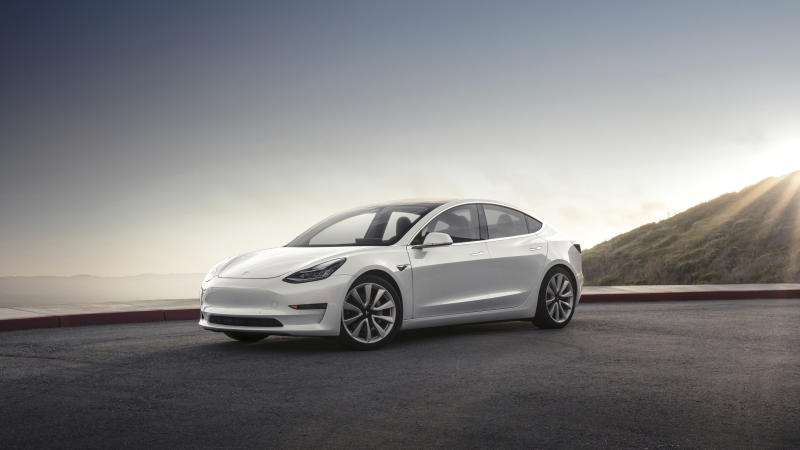 Edmunds hits the road with Tesla's Model 3