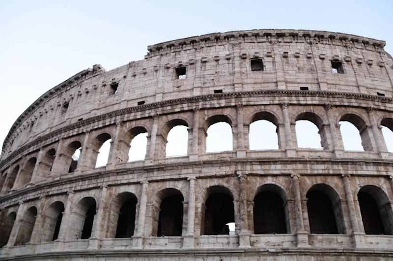 The Colosseum was once used for gladiatorial contests and public spectacles. Source: Holly O'Sullivan