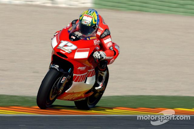 "Troy Bayliss - 2006 <span class=""copyright"">Ducati Corse</span>"