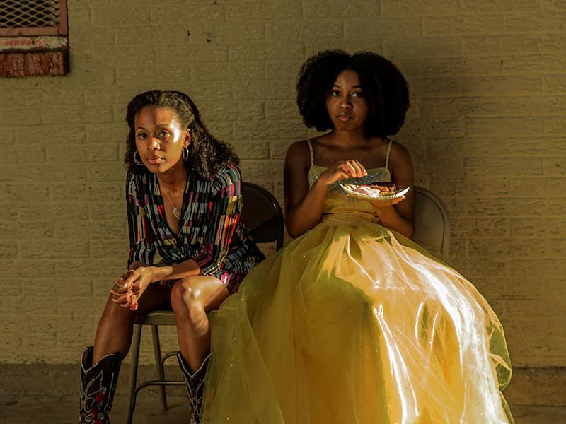 A dream deferred: Nicole Beharie, left, and Alexis Chikaeze, who play mother and daughter in 'Miss Juneteenth' (Vertigo)