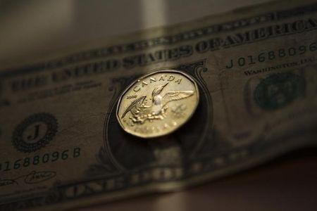 Greenback loses ground vs. loonie in early trade