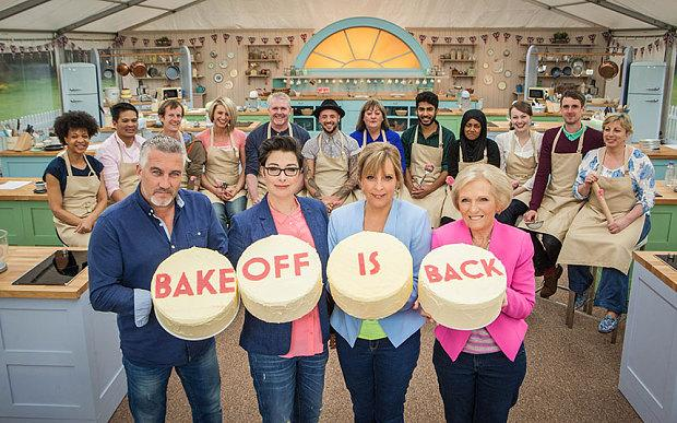 Mel and Sue hosted 'The Great British Bake Off' on BBC for seven series. (BBC/Love Productions/Mark Bourdillon)