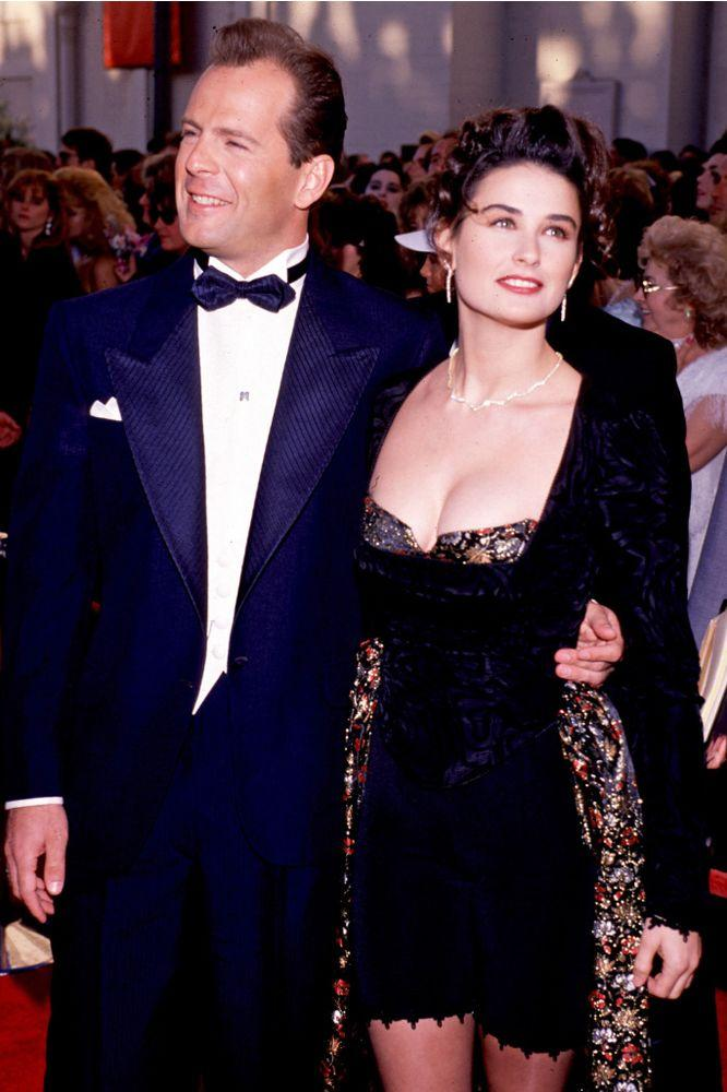 Bruce Willis and Demi Moore | Ron Wolfson/WireImage
