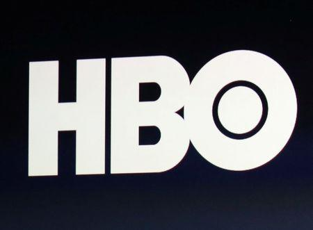 FILE PHOTO: HBO logo is on display during an Apple event in San Francisco, California, U.S., March 9, 2015. REUTERS/Robert Galbraith/File Photo