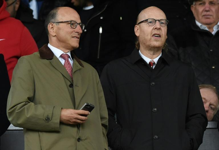Manchester United co-chairman Joel Glazer (L) was named as a Super League vice-president