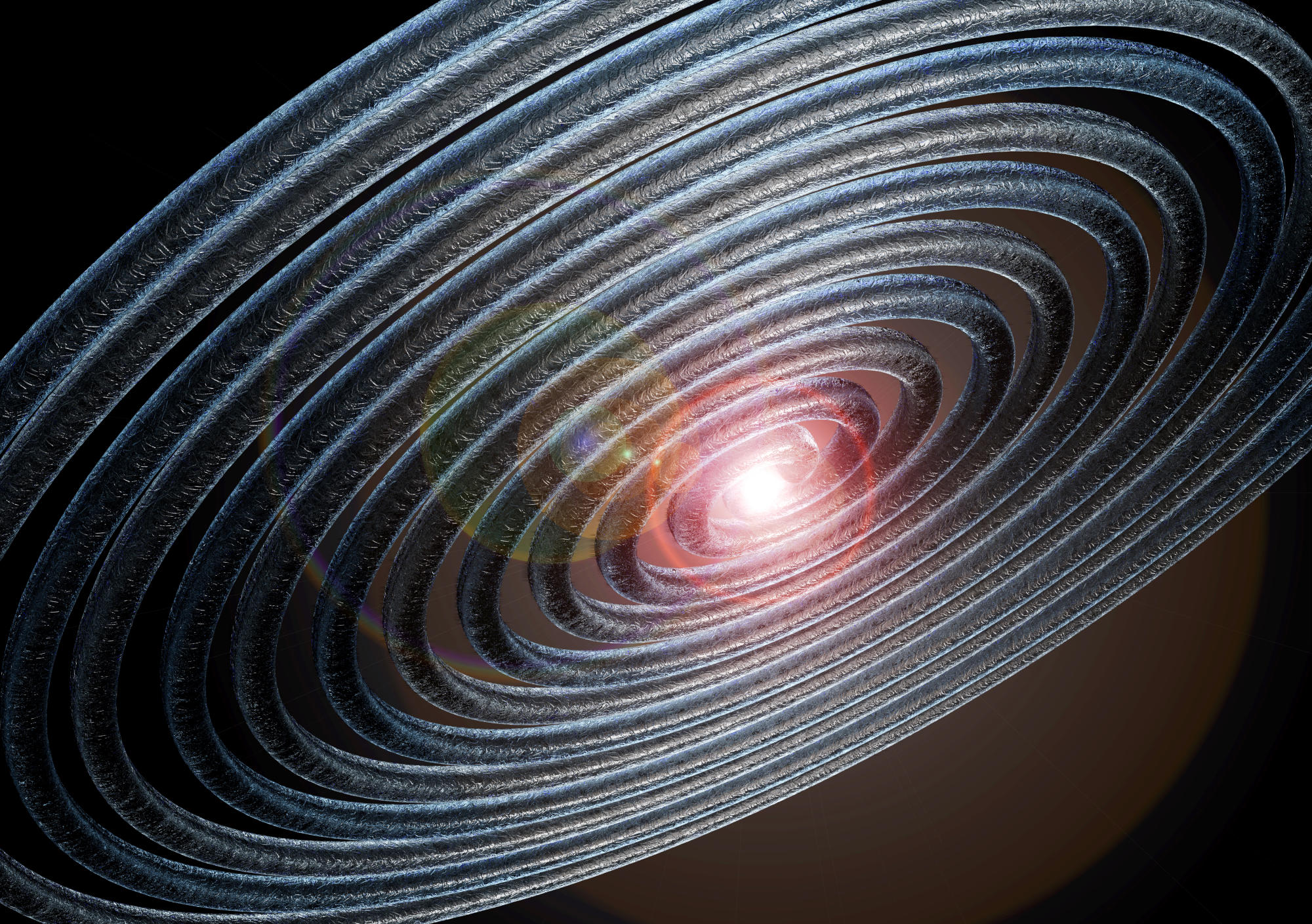 Collision of two 'dark matter stars' may have caused 'ripple' that reached Earth last year - Yahoo India News