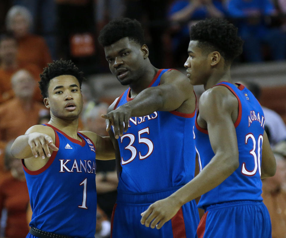 Kansas enters the Big 12 tournament without a sweat. (Photo by Chris Covatta/Getty Images)