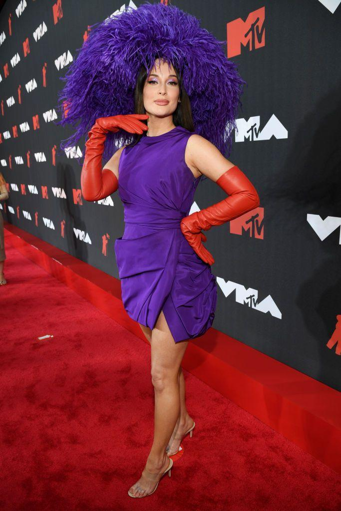 <p>Musgraves wore Valentino Couture to the event.</p>