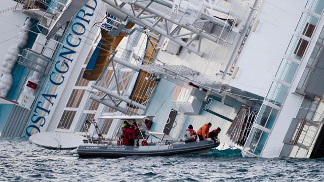 Italian Cruise Ship Sinking: Search Suspended as Captain Questioned