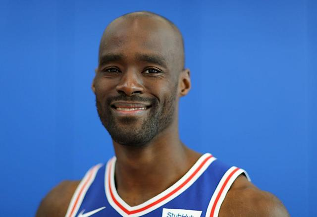Emeka Okafor has played for Philadelphia's G League team. (Getty)