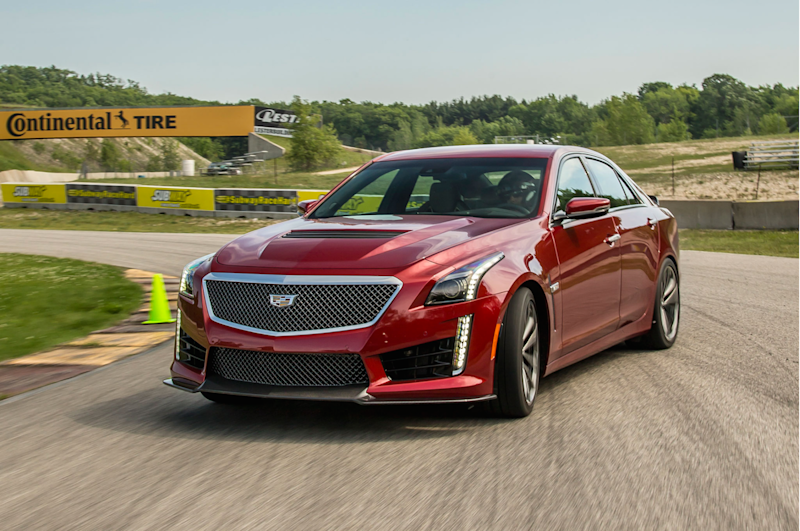 cadillac future mobility prospects cts v on track