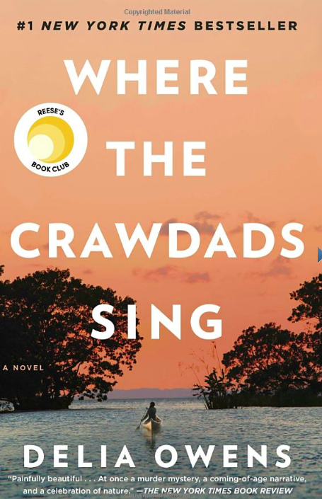 Where the Crawdads Sings by Delia Owens (Photo via Amazon)