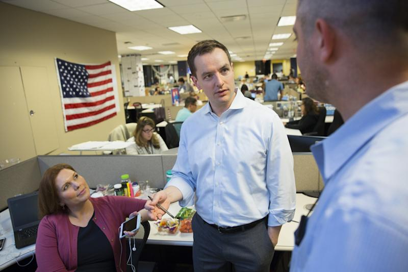 Robby Mook, Hillary Clinton's campaign manager. (Photo: Brooks Kraft/Getty Images)