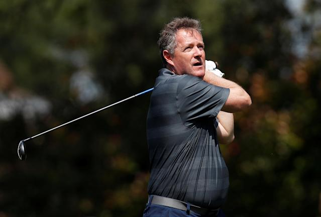 Golf - European Tour - BMW PGA Championship - Wentworth Club, Virginia Water, Britain - May 23, 2018 Presenter Piers Morgan during the pro-am Action Images via Reuters/Paul Childs