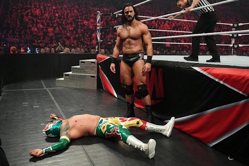 The Day Sin Cara Asks for Release from WWE, Gets Beaten By Drew McIntyre