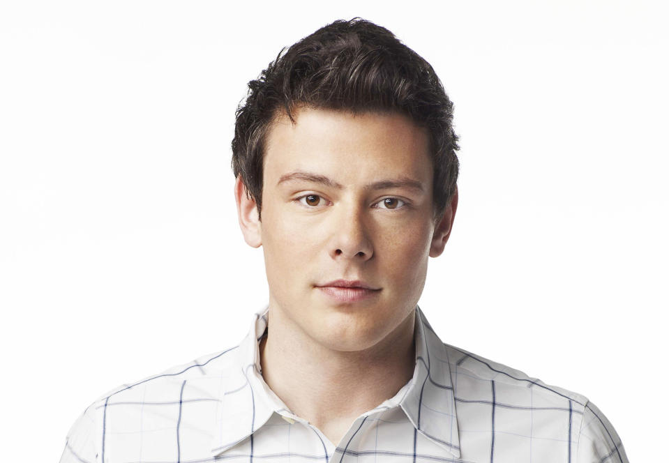 "GLEE: The McKinley High family, past and present, join together to remember and celebrate the life of Finn Hudson (Cory Monteith) in ""The Quarterback"" episode of GLEE airing Thursday, Oct. 10 (9:00-10:00 PM ET/PT) on FOX.  (Photo by FOX Image Collection via Getty Images)"