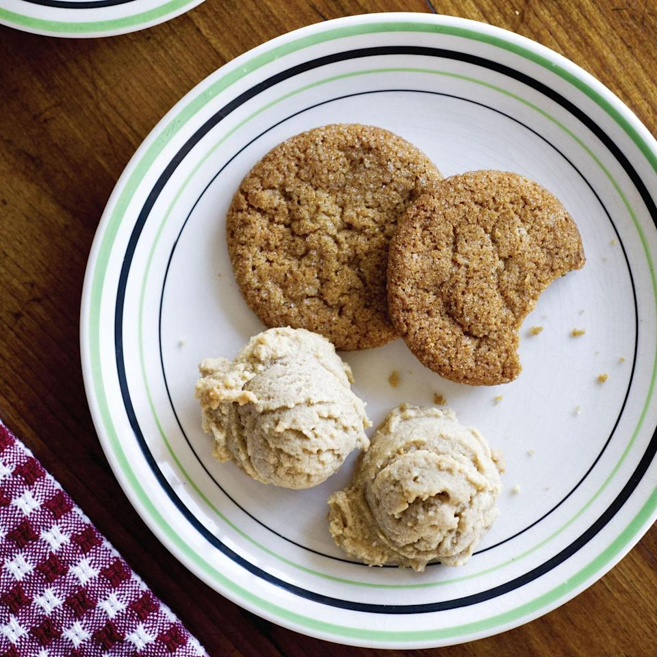 """Stockpile your bacon grease—you'll need it to make these chewy, bacon-infused cookies with a hint of sweet spice. <a href=""""https://www.epicurious.com/recipes/food/views/bacon-fat-gingersnaps-51128400?mbid=synd_yahoo_rss"""" rel=""""nofollow noopener"""" target=""""_blank"""" data-ylk=""""slk:See recipe."""" class=""""link rapid-noclick-resp"""">See recipe.</a>"""