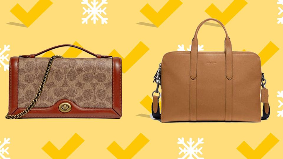 Score a drool-worthy 50% off select handbags at Coach.