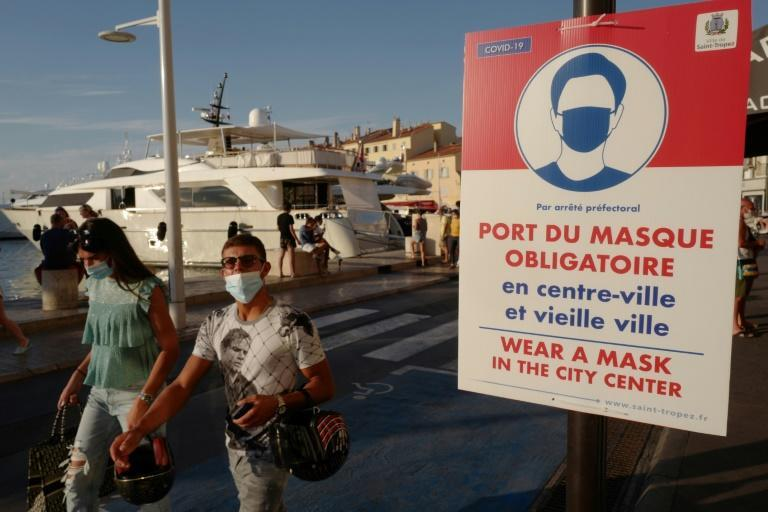 France recorded 2,669 new coronavirus infections, its highest daily number since May