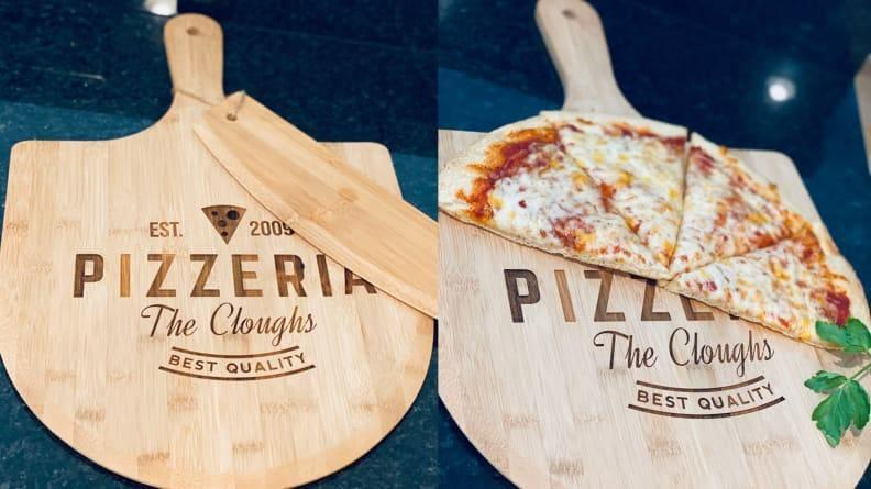 The only way to serve up signature slices.