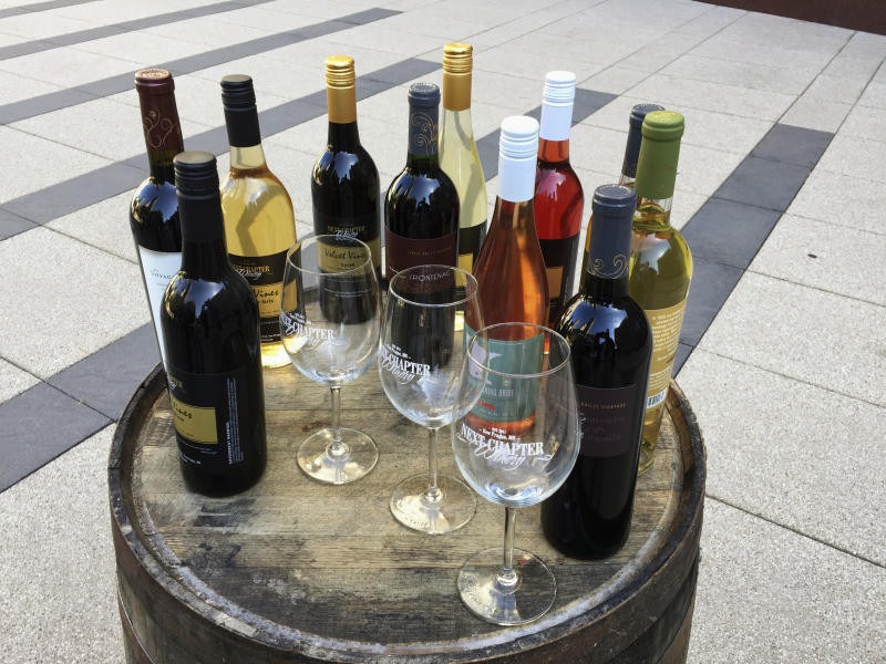 Lawsuit fights ban on wineries from using out-of-state grapes