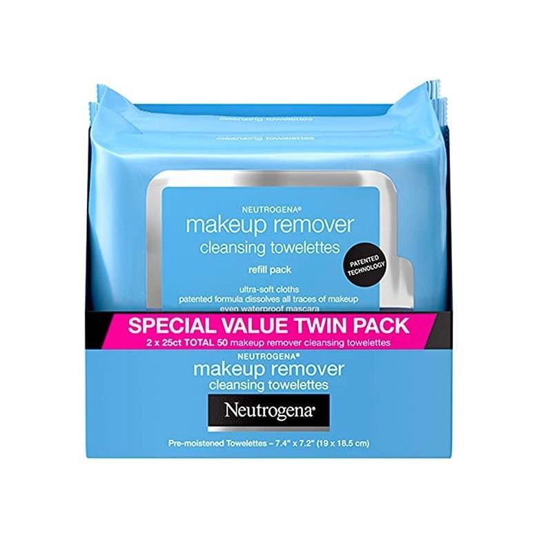 "For nights when getting up to wash your face feels like climbing Mt. Everest. $12, Amazon. <a href=""https://www.amazon.com/Neutrogena-Makeup-Removing-Wipes-Count/dp/B00U2VQZDS/"" rel=""nofollow noopener"" target=""_blank"" data-ylk=""slk:Get it now!"" class=""link rapid-noclick-resp"">Get it now!</a>"