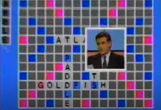 <p>It didn't air for long, but Chuck Woolery led the game show based on the classic board game. Woolery would give contestants a hint to guess words in the crossword round. In 1986, the show aired a tournament with a $100,000 grand prize. </p>