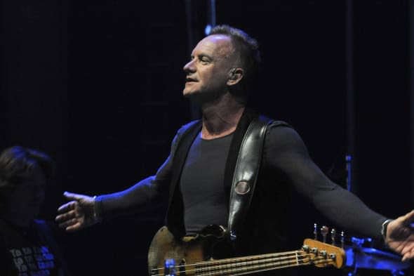 Sting in Concert - Prague