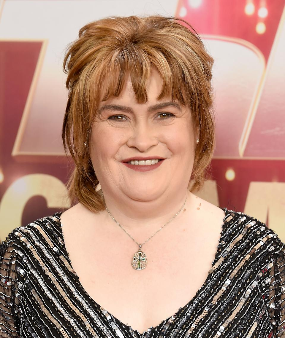 Susan Boyle arrives at
