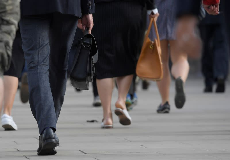 Britain set to match pre-crisis level of wages in early 2020 - report