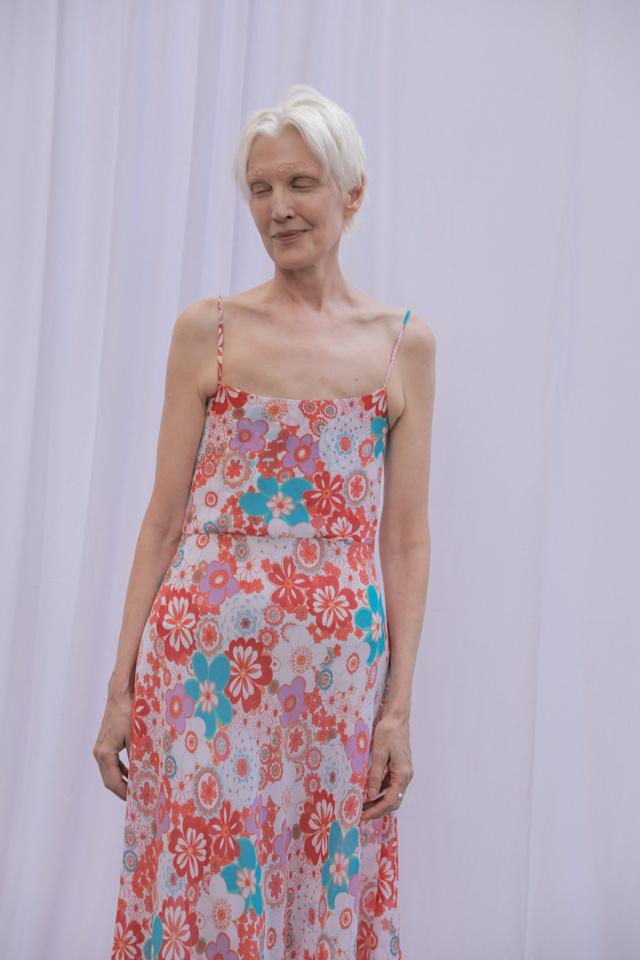 <p>Collina Strada had models of all different ages walk the show, including a toddler! </p>