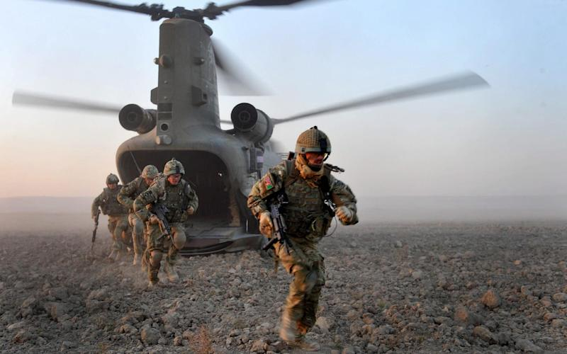 The British Army must reorganise away from counterinsurgency operations to be able to fight in a more agile and lethal way, a new report has said. Photo taken in Afghanistan Nov 16, 2010. - Ministry of Defence