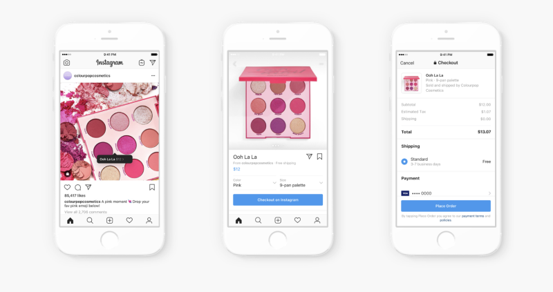 Facebook's Instagram Takes a Major Step Toward E-Commerce