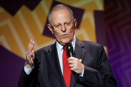 Peru's President Pedro Pablo Kuczynski holds a news conference at the conclusion of the APEC Summit in Lima